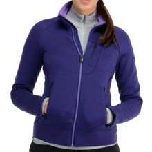 Icebreaker Arctic RealFleece 320 Jacket - Merino Wool, UPF 50+ (For Women) in Horizon - Closeouts