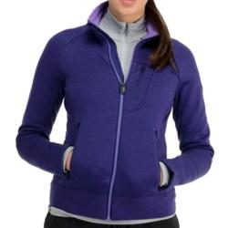 Icebreaker Arctic RealFleece 320 Jacket - Merino Wool, UPF 50+ (For Women) in Black