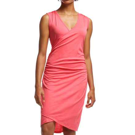 Icebreaker Aria Dress - UPF 20+, Merino Wool, Sleeveless (For Women) in Grapefruit - Closeouts