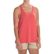 Icebreaker Aria Tank Top - Merino Wool, UPF 20+ (For Women) in Grapefruit - Closeouts