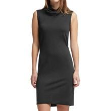 Icebreaker Aria Turtleneck Dress - UPF 30+, Merino Wool, Sleeveless (For Women) in Black - Closeouts
