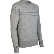 Icebreaker Aries Shirt - Merino Wool, Long Sleeve (For Men) in Metro - Closeouts