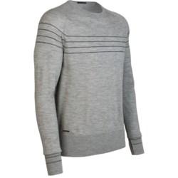 Icebreaker Aries Shirt - Merino Wool, Long Sleeve (For Men) in Black