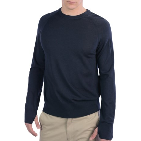 Icebreaker Aries Sweater - Merino Wool, Crew Neck (For Men) in Stealth
