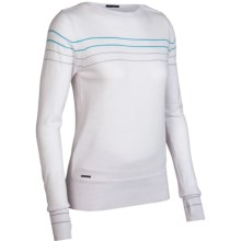 Icebreaker Athena Sweater - Merino Wool, Boat Neck (For Women) in Bone - Closeouts