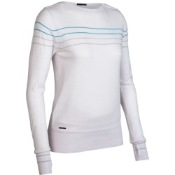 Icebreaker Athena Sweater - Merino Wool, Boat Neck (For Women) in Bone