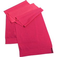Icebreaker Aurora Scarf - Merino Wool (For Men and Women) in Cherub/Ruby - Closeouts