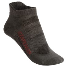 Icebreaker Bike Ultralite Micro Socks - Merino Wool, Below-the-Ankle (For Women) in Oil/Salsa/Oil - 2nds