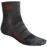 Icebreaker Bike Ultralite Mini Socks - Merino Wool, Quarter-Crew (For Men)
