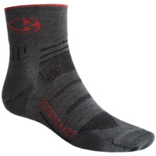 Icebreaker Bike Ultralite Mini Socks - Merino Wool, Quarter-Crew (For Men) in Oil/Salsa/Oil - 2nds