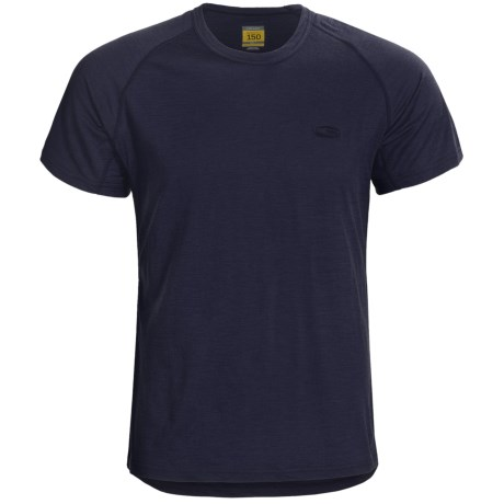 Icebreaker Bodyfit 150 Atlas T-Shirt - Merino Wool, Short Sleeve (For Men) in Ink
