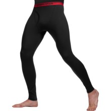 Icebreaker Bodyfit 150 Leggings with Fly - Merino Wool (For Men) in Carbon - Closeouts