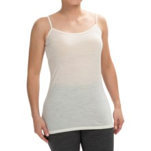 Icebreaker BodyFit 150 Siren Camisole - UPF 30+, Merino Wool (For Women) in Snow - Closeouts