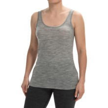 Icebreaker BodyFit 150 Siren Tank Top - UPF 30+, Merino Wool (For Women) in Metro Heather - Closeouts