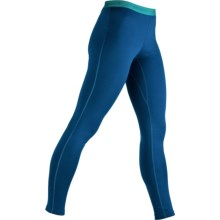 Icebreaker Bodyfit 200 Base Layer Leggings - UPF 50+, Merino Wool (For Women) in Isle - Closeouts