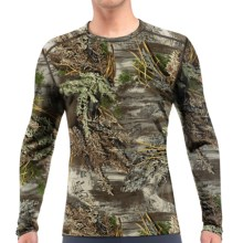 Icebreaker Bodyfit 200 IKA Realtree® Base Layer Top - UPF 30+, Merino Wool, Lightweight, Long Sleeve (For Men) in Real Tree Max - Closeouts