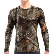 Icebreaker BodyFit 200 IKA Realtree® Base Layer Top - UPF 30+, Merino Wool, Long Sleeve (For Men) in Real Tree Xtra - Closeouts