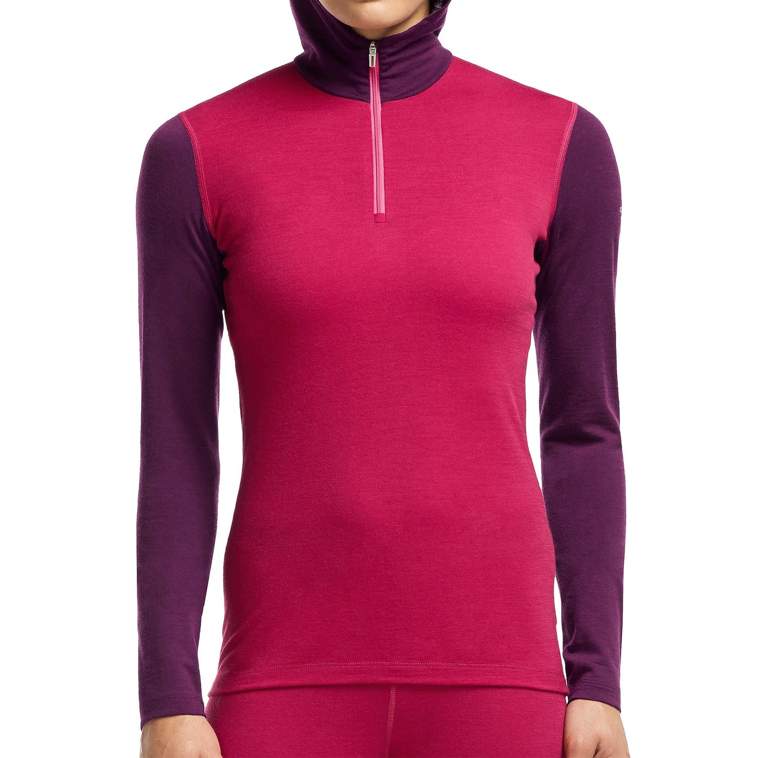 icebreaker bodyfit 200 oasis base layer hooded top for