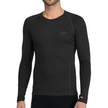 Icebreaker Bodyfit 200 Oasis Base Layer Top - Merino Wool, Lightweight, Long Sleeve (For Men) in Black - Closeouts
