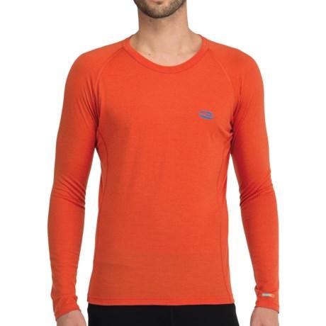 Icebreaker Bodyfit 200 Oasis Base Layer Top - Merino Wool, Lightweight, Long Sleeve (For Men) in Tan