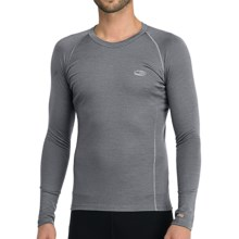 Icebreaker Bodyfit 200 Oasis Base Layer Top - Merino Wool, Lightweight, Long Sleeve (For Men) in Cave - Closeouts