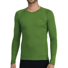 Icebreaker Bodyfit 200 Oasis Base Layer Top - Merino Wool, Lightweight, Long Sleeve (For Men) in Grass - Closeouts