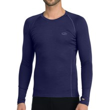Icebreaker Bodyfit 200 Oasis Base Layer Top - Merino Wool, Lightweight, Long Sleeve (For Men) in Planet - Closeouts