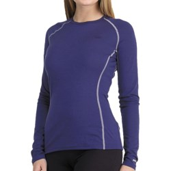Icebreaker Bodyfit 200 Oasis Base Layer Top - Merino Wool, Lightweight, Long Sleeve (For Women) in Horizon