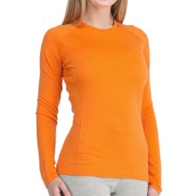 Icebreaker Bodyfit 200 Oasis Base Layer Top - Merino Wool, Lightweight, Long Sleeve (For Women) in Mandarin - Closeouts