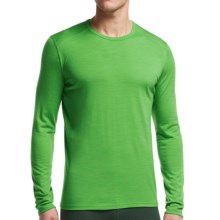 Icebreaker BodyFit 200 Oasis Base Layer Top - Merino Wool, Long Sleeve (For Men) in Balsam/Balsam - Closeouts
