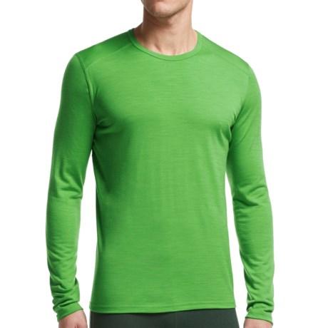 Icebreaker BodyFit 200 Oasis Base Layer Top - Merino Wool, Long Sleeve (For Men) in Balsam/Balsam