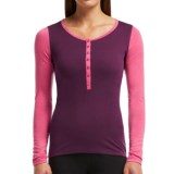 Icebreaker BodyFit 200 Oasis Henley Base Layer Top - UPF 30+, Merino Wool, Long Sleeve (For Women)