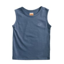Icebreaker Bodyfit 200 Tank Top - Merino Wool (For Kids) in Thunder - Closeouts