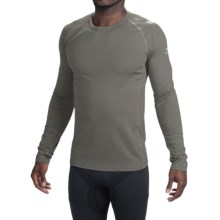 Icebreaker BodyFit 200 Zone Base Layer Top - UPF 40+, Merino Wool, Long Sleeve (For Men) in Metal/Spark - Closeouts