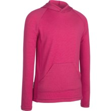 Icebreaker Bodyfit 260 Adventure Hoodie Sweatshirt - UPF 50+, Merino Wool (For Kids) in Ruby - Closeouts