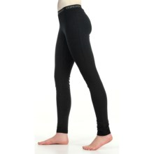 Icebreaker Bodyfit 260 Base Layer Bottoms - UPF 50+, Midweight, Merino Wool (For Women) in Black - Closeouts