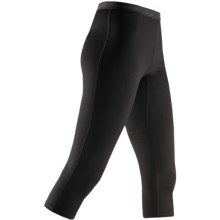 Icebreaker Bodyfit 260 Base Layer Tights - Merino Wool, Legless, 3/4-Length (For Women) in Black - Closeouts