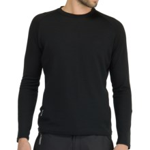 Icebreaker Bodyfit 260 Base Layer Top - Merino Wool, Long Sleeve (For Men) in Black - Closeouts