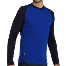 Icebreaker Bodyfit 260 Base Layer Top - Merino Wool, Long Sleeve (For Men) in Cobalt/Admiral - Closeouts