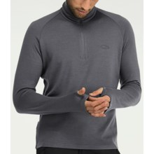 Icebreaker Bodyfit 260 Base Layer Top - Merino Wool, Midweight, Long Sleeve (For Men and Women) in Cave - Closeouts
