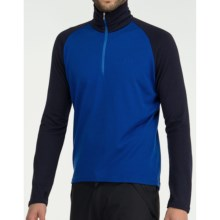 Icebreaker Bodyfit 260 Base Layer Top - Merino Wool, Midweight, Long Sleeve (For Men and Women) in Cobalt/Admiral - Closeouts