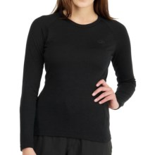Icebreaker Bodyfit 260 Base Layer Top - UPF 50+, Midweight, Merino Wool, Long Sleeve (For Women) in Black - Closeouts