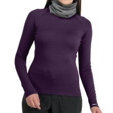 Icebreaker Bodyfit 260 Crew Shirt - Merino Wool, UPF 25, Long Sleeve (For Women) in Divine - Closeouts