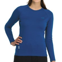 Icebreaker Bodyfit 260 Crew Shirt - Merino Wool, UPF 25, Long Sleeve (For Women) in Isle - Closeouts