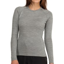 Icebreaker Bodyfit 260 Crew Shirt - Merino Wool, UPF 25, Long Sleeve (For Women) in Metro - Closeouts