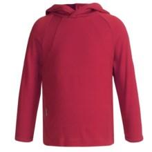 Icebreaker Bodyfit 260 Explorer Hoodie - Merino Wool, Lightweight, UPF 39+ (For Kids) in Rouge - Closeouts