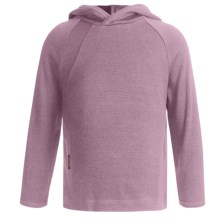 Icebreaker Bodyfit 260 Explorer Hoodie Sweatshirt - Merino Wool, Lightweight, UPF 39+ (For Kids) in Foxy - Closeouts