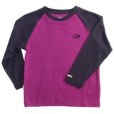 Icebreaker Bodyfit 260 Shirt - Merino Wool, Long Sleeve (For Kids)
