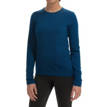 Icebreaker BodyFit 260 Tech Base Layer Top - UPF 30+, Merino Wool, Long Sleeve (For Women) in Largo - Closeouts