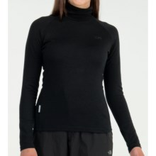 Icebreaker Bodyfit 260 Turtleneck Base Layer Top - UPF 50+, Merino Wool, Long Sleeve (For Women) in Black - Closeouts
